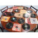 64 Gramaphone Vinyl Records