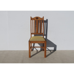 Antique Oak Dining Room Chair