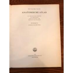 Prof. DR. CHR. P. Raven Anatomische Atlas 7th print 1959
