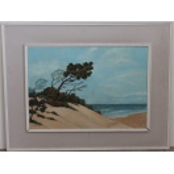 E. Smith Beach Painting