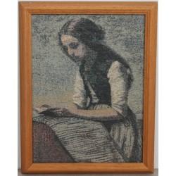 Vintage Fine Braided Painting