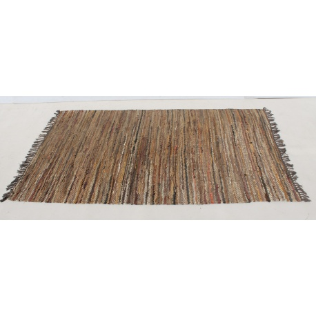 Woven Carpet Rug with Tassels