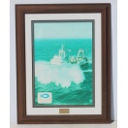 Sea Harvest Framed Ship Picture